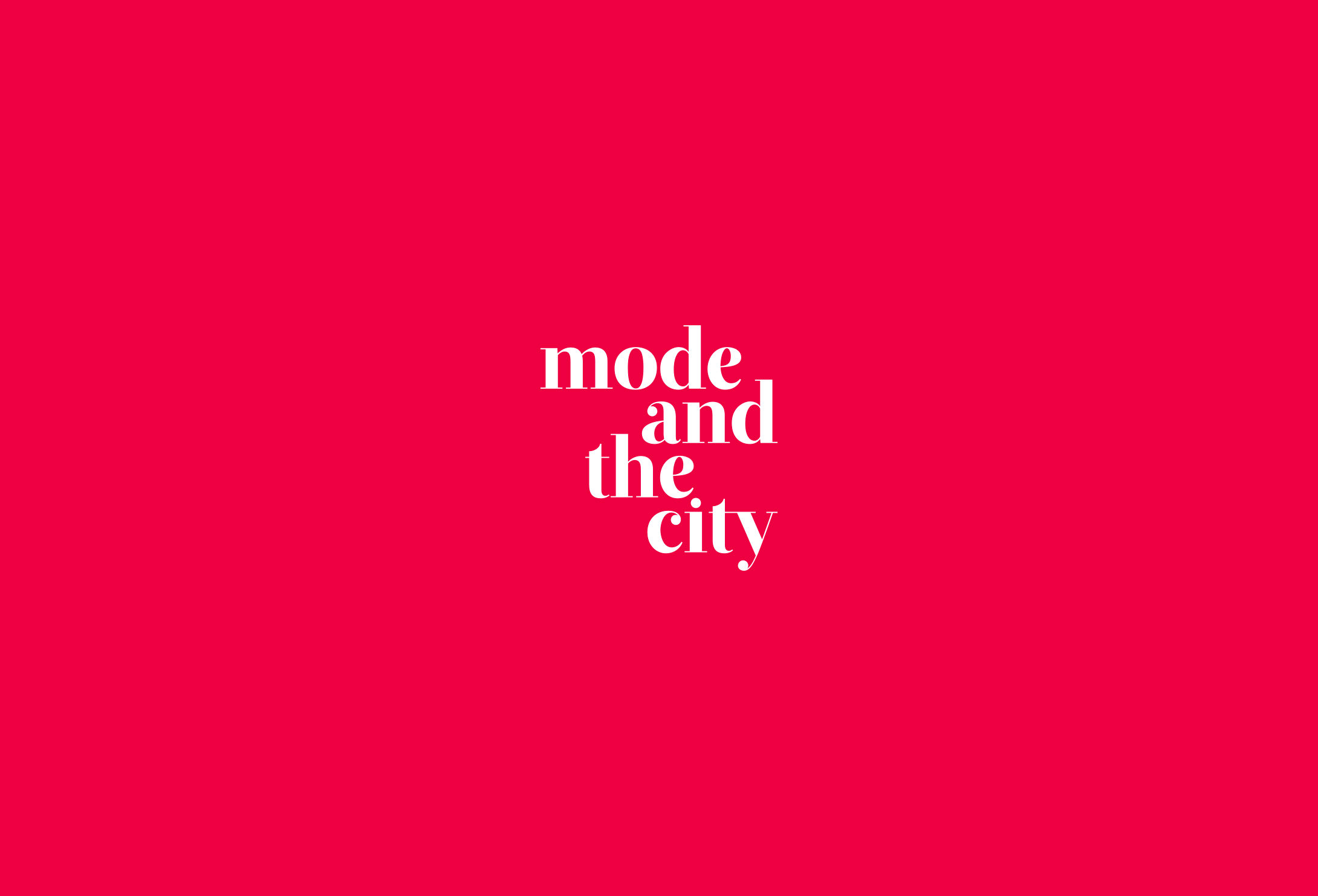 Mode and TheCity